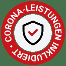 Corona Leistungen inkludiert